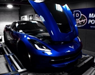CORVETTE on AWD1200P CHASSIS DYNO